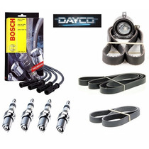 Kit Correia Dentada Altern. Cabos Velas Ford Focus 1.6 16v