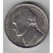 Estados Unidos Moneda De 5 Cents Año 2000 P !!!!