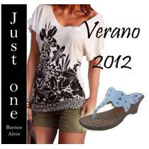 Exclusivo Zapato Sandalia Taco 6,5 Cm Temp. 2012 Talle 35-40