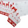 Mantel Navideño Pvc Impermeable Lavable!! 240 Cms X 140 Cms