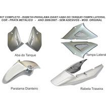 Carenagem Cbx 250 Twister Prata 2006/2007 Kit Completo