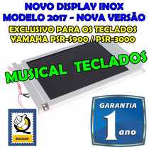 Novo Display Lcd Yamaha Psr S900, Psr3000 C/ 01 Ano Garantia