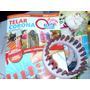 Telar Plástico Con Pernos Circular 14cm + Revista !