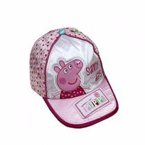 Gorra De Peppa Pig Con Visera - Licencia Original