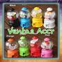 Mini Máquina De Dulces Burbuja Gumball Dispensador Colores