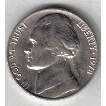 Estados Unidos Moneda De 5 Cents Año 1978 !!!