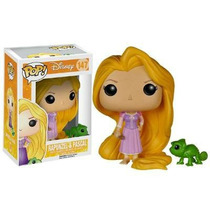 Funko Pop Princesa Rapunzel Tangled & Pascal - Enrolados