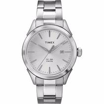 Reloj Timex Tw2p77200 Metal Plateado Original Envío Gratis