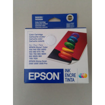 Cartucho Epson Stylus Original Color S010191/s020089