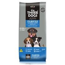 Ração Three Dogs Cães Filhotes Raças Médias 15 Kg
