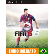 Fifa 15 - Ps3 - Idioma Português - Pré Venda - Envio 23/09