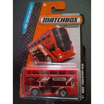 Camioncito Juguete Mbx Two-story Bus. Matchbox. 6/120 (2013)