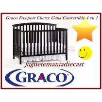 Cuna Graco Freeport Cherry Convertible 4 En 1 Nuevo En Caja