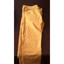 Pantalon Mostaza De Hombre Rip Curl Talle 32