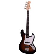 Baixo Jazz Bass 4 Cordas Nolan Deluxe Njb Dl Sunburst