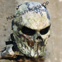 Máscara Airsoft Skull- C/ Tela De Metal - Full Face