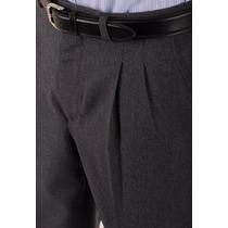Pantalones Vestir Pinzados Hombre T 40 Al 60 $ 450