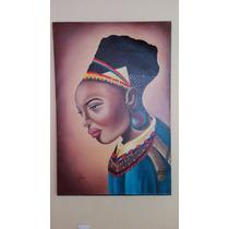 Pinturas Al Oleo - Negra Africana