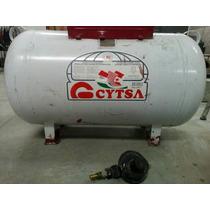 Tanque De Gas Estacionario 180litros Cytsa Con Regulador.
