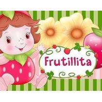 Kit Imprimible Frutillita Bebe Frutillitas Fresita 2x1