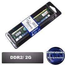Memoria 2gb Ddr2 800 Kingston Compatible 667 / 533 Nuevas