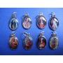 Recuerdo Medalla Ovalada Pequena. Santos Virgenes