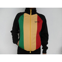 Camperas Sativa Reggae Rastas Bob Marley Jamaica