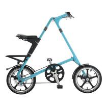 Bicicleta Plegable Strida Turquesa