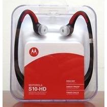 Audifonos Bluetooth Motorola S10 Con Sonido Hd