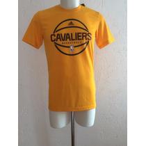 Playera Shirt Cleveland Cavaliers Basketball Adidas 2016 Nba