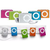Reproductor Mp3 Shuffle Expandible 16 Gb Con Audifonos Mayor