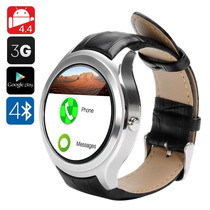 No.1 D5 Android Smart Watch 4.0 (plata Y Negro) Wifi, 3g
