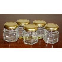 Frascos-envases Vidrio 40 Cc Con Tapa X 30