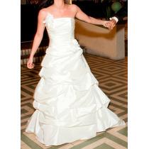Vendo Vestido Novia De Raso, Talla 38