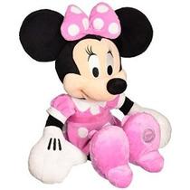 Disney 8 Minnie Mouse En Rosa Vestido De Felpa
