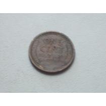 One Cent 1919 Antigua Moneda De Ee.uu..