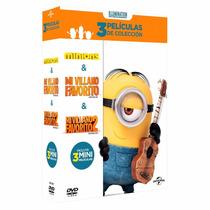 Minions Mi Villano Favorito 1 Y 2 Boxset , Peliculas Dvd