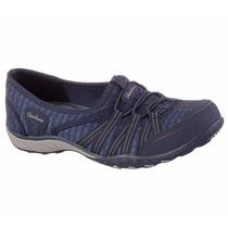 Zapatos Skechers Para Damas 22477-nvy