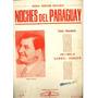 * Partitura Para Piano Polka Paraguaya - Noches Del Paraguay