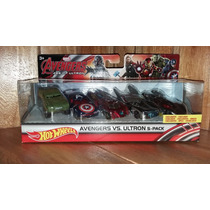 Hot Wheels Avengers Vengadores Set Era Ultron 5 Pack Lujo