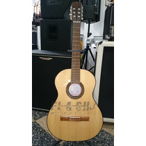 Guitarra Clasica Fonseca 31p Ec Con Eq C/ Estuche Rigido Skb