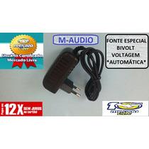 Fonte Teclado Controlador M-audio Axiom 25 49 61 Nova