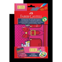 Estojo It Girl 18 Unidades Faber Castell