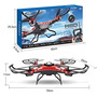 Drone Hp95 Drone Helicopter (tm) Jjrc H8d 6-axis Gyro Rtf 2
