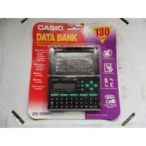 Agenda Eletronica Casio Data Bank Dc 2000 Lacrada