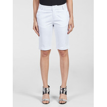 Bermuda Calvin Klein Jeans Stretch Branco
