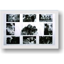 Painel Para 9 Fotos, Moldura Preta Ou Moldura Branca