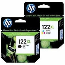Kit Cartucho Hp 122xl Black E Color Original Alto Rendimento