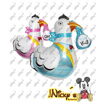 Globo De Cigueña De 80x 80cm Para Baby Shower Decoracion