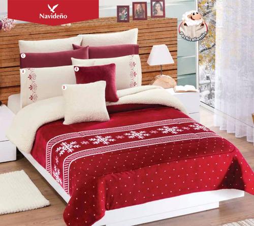 Cobertor concord borrega navide o individual matrimonial for Comprar azulejos sueltos